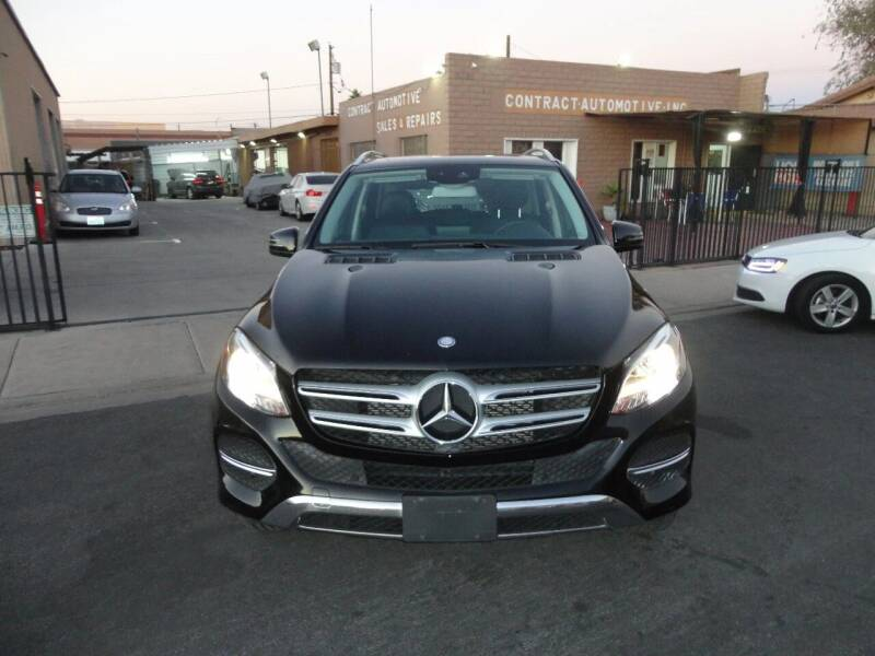 2016 Mercedes-Benz GLE for sale at CONTRACT AUTOMOTIVE in Las Vegas NV