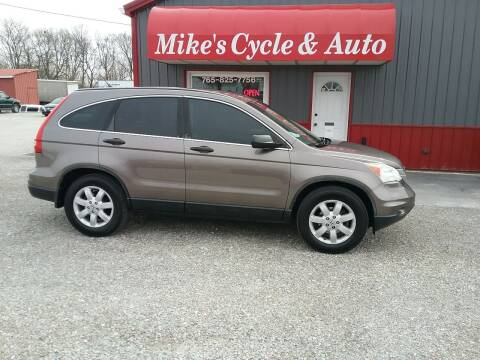 2011 Honda CR-V for sale at MIKE'S CYCLE & AUTO in Connersville IN