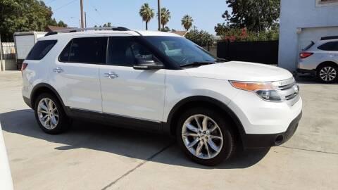2013 Ford Explorer for sale at DOYONDA AUTO SALES in Pomona CA