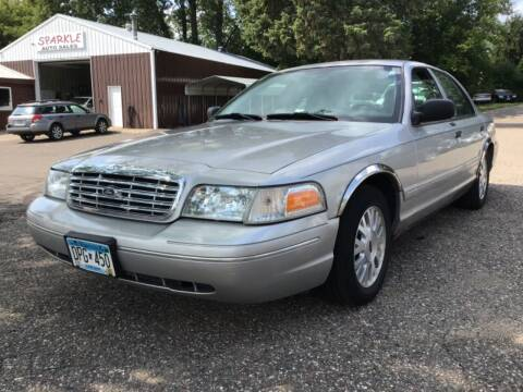 2005 Ford Crown Victoria for sale at Sparkle Auto Sales in Maplewood MN