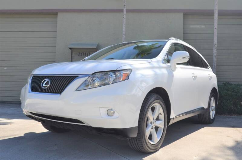 2010 Lexus RX 350 for sale at ALWAYSSOLD123 INC in Fort Lauderdale FL