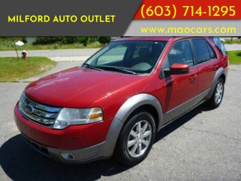 2009 Ford Taurus X for sale at Milford Auto Outlet in Milford NH