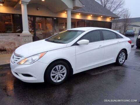 2013 Hyundai Sonata for sale at DEALS UNLIMITED INC in Portage MI