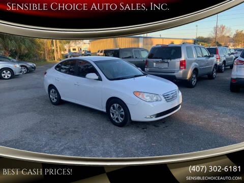 2010 Hyundai Elantra for sale at Sensible Choice Auto Sales, Inc. in Longwood FL