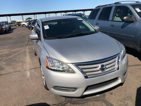 2015 Nissan Sentra for sale at EV Auto Sales LLC in Sun City AZ