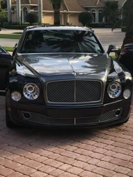 2014 Bentley Mulsanne for sale at Dave's Garage Inc in Hampton Beach NH