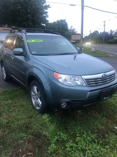 2010 Subaru Forester for sale at QUALITY USED CARS LLC in Wallingford CT