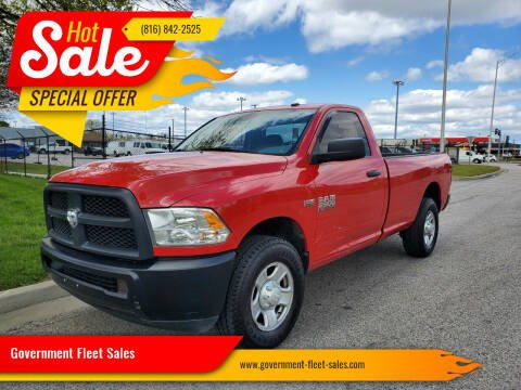 2015 RAM Ram Pickup 2500 for sale at Government Fleet Sales in Kansas City MO