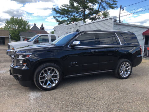 2016 Chevrolet Tahoe for sale at Jim's Hometown Auto Sales LLC in Byesville OH