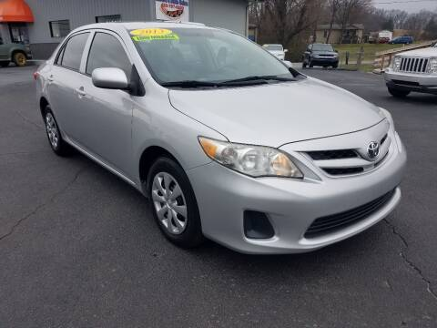 2013 Toyota Corolla for sale at Moores Auto Sales in Greeneville TN