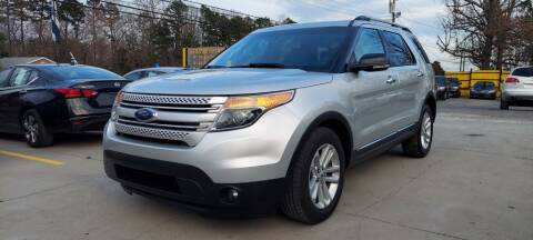 2013 Ford Explorer for sale at DADA AUTO INC in Monroe NC
