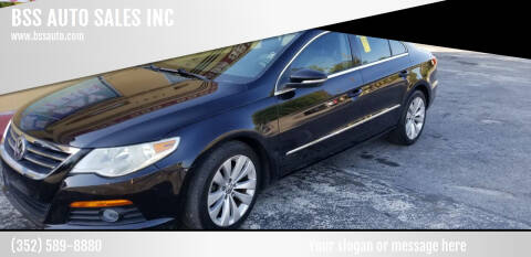 2010 Volkswagen CC for sale at BSS AUTO SALES INC in Eustis FL