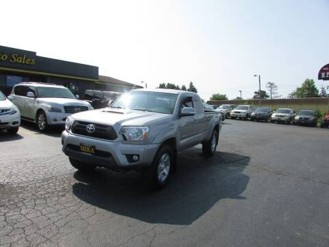 2014 Toyota Tacoma for sale at MIRA AUTO SALES in Cincinnati OH