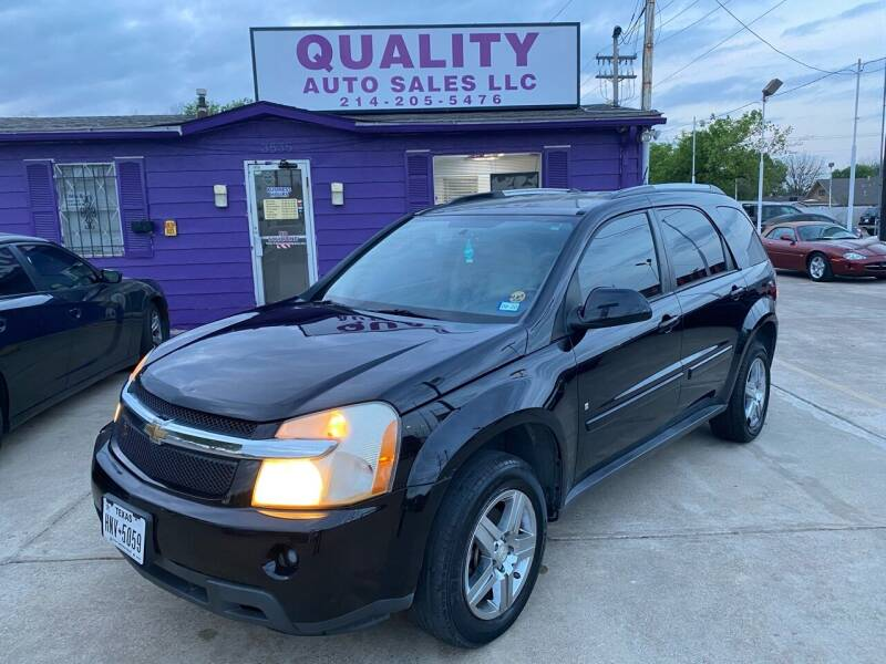 2008 Chevrolet Equinox for sale at Quality Auto Sales LLC in Garland TX