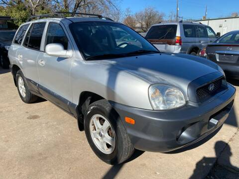 2002 Hyundai Santa Fe for sale at Cash Car Outlet in Mckinney TX