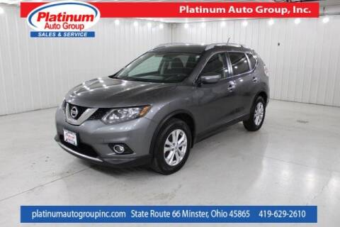 2014 Nissan Rogue for sale at Platinum Auto Group Inc. in Minster OH