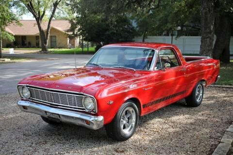 1966 Ford Ranchero for sale at Village Motors Of Salado in Salado TX