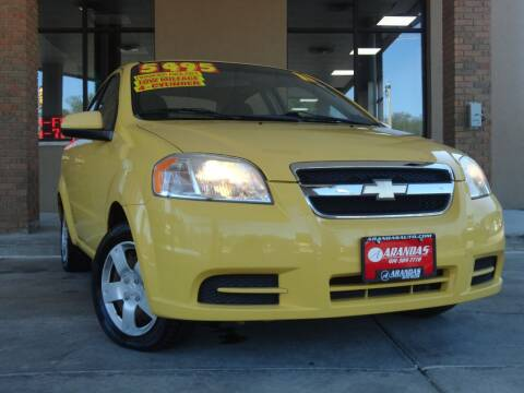 2011 Chevrolet Aveo for sale at Arandas Auto Sales in Milwaukee WI