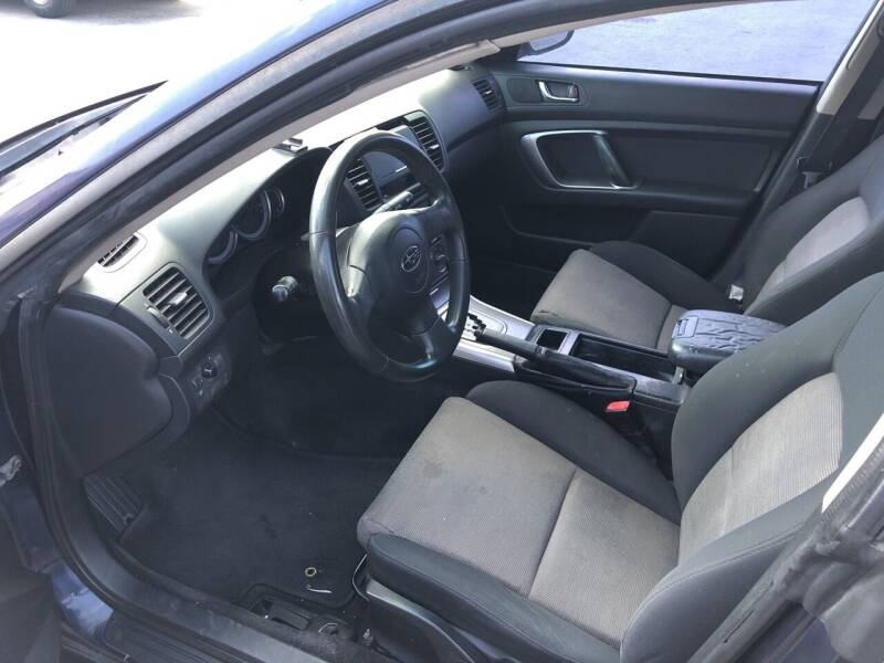 2005 Subaru Legacy AWD 2.5i 4dr Sedan - Carson City NV