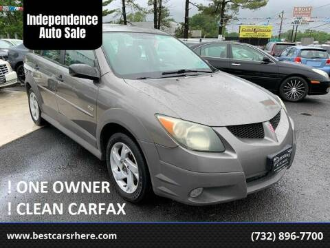 2004 Pontiac Vibe for sale at Independence Auto Sale in Bordentown NJ