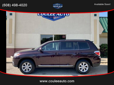 2013 Toyota Highlander for sale at Coulee Auto in La Crosse WI