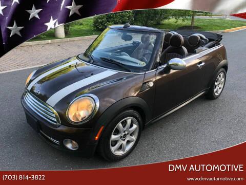 2010 MINI Cooper for sale at DMV Automotive in Falls Church VA