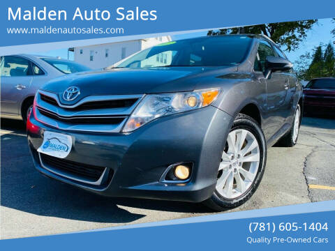 2013 Toyota Venza for sale at Malden Auto Sales in Malden MA