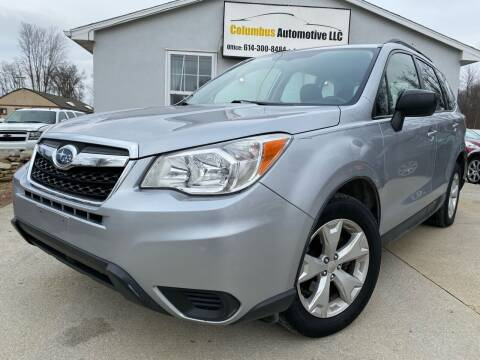 2015 Subaru Forester for sale at COLUMBUS AUTOMOTIVE in Reynoldsburg OH