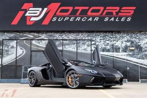 2014 Lamborghini Aventador for sale at BJ Motors in Tomball TX