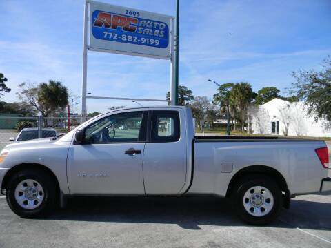 2006 Nissan Titan for sale at APC Auto Sales in Fort Pierce FL