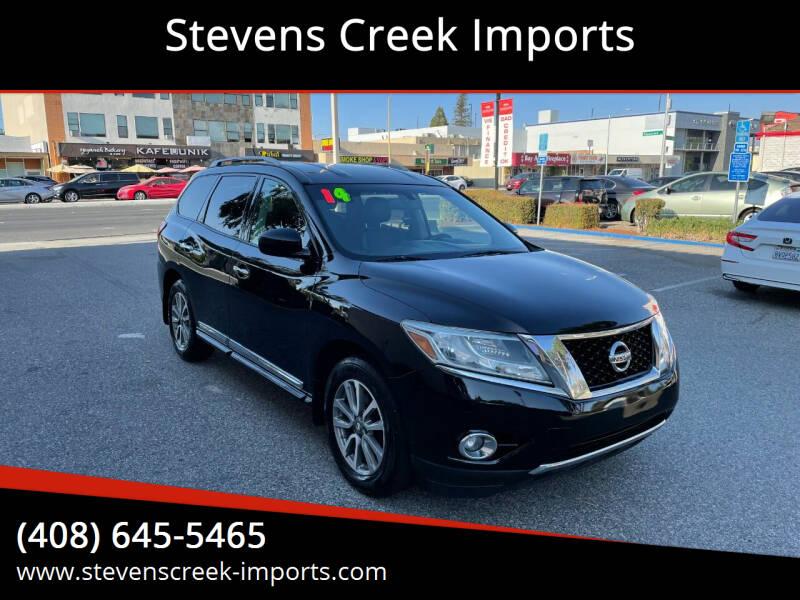2014 Nissan Pathfinder for sale at Stevens Creek Imports in San Jose CA