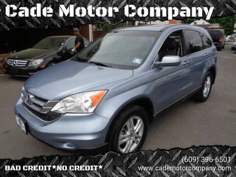 2010 Honda CR-V for sale at Cade Motor Company in Lawrenceville NJ