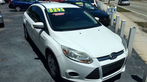 2013 Ford Focus for sale at AFFORDABLE AUTO SALES in We Finance Everyone! FL