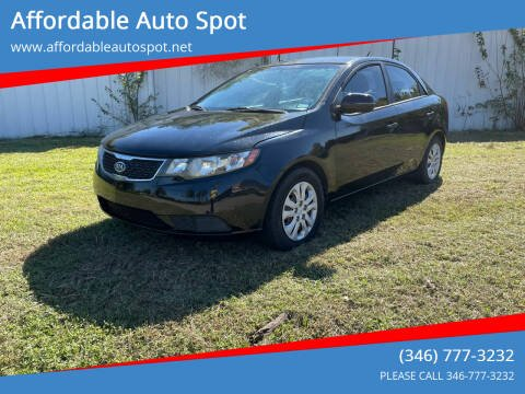 2013 Kia Forte for sale at Affordable Auto Spot in Houston TX