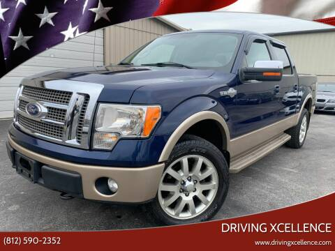 2011 Ford F-150 for sale at Driving Xcellence in Jeffersonville IN