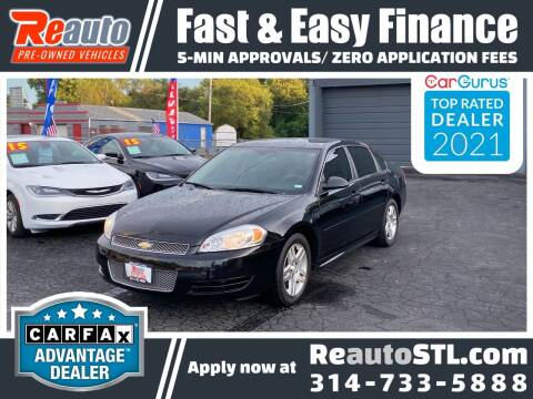 2016 Chevrolet Impala Limited for sale at Reauto in Saint Louis MO