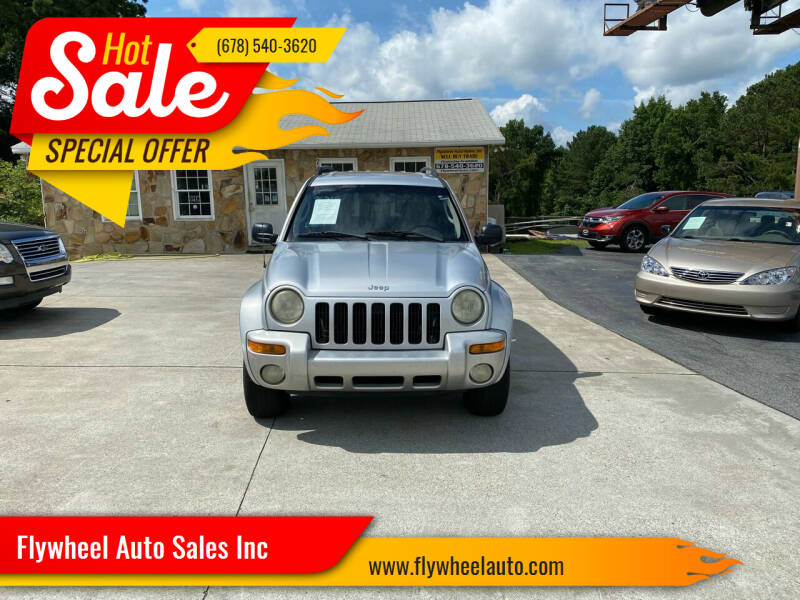 2004 Jeep Liberty for sale at Flywheel Auto Sales Inc in Woodstock GA