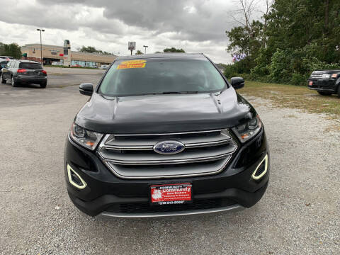 2015 Ford Edge for sale at Community Auto Brokers in Crown Point IN