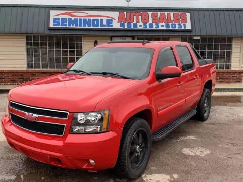 2007 Chevrolet Avalanche for sale at Seminole Auto Sales in Seminole OK