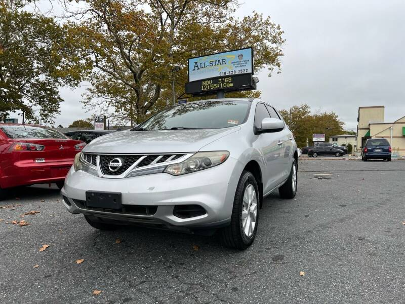 2011 Nissan Murano for sale at All Star Auto Sales and Service LLC in Allentown PA