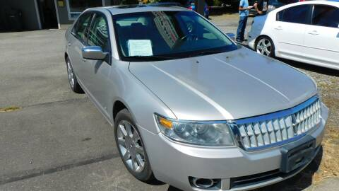 2007 Lincoln MKZ for sale at M & M Auto Sales LLc in Olympia WA