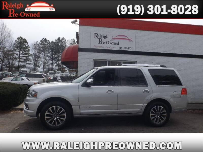 2015 Lincoln Navigator for sale at Raleigh Pre-Owned in Raleigh NC