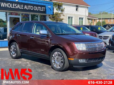 2009 Lincoln MKX for sale at MWS Wholesale  Auto Outlet in Grand Rapids MI