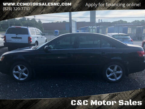 2006 Hyundai Sonata for sale at C&C Motor Sales LLC in Hudson NC