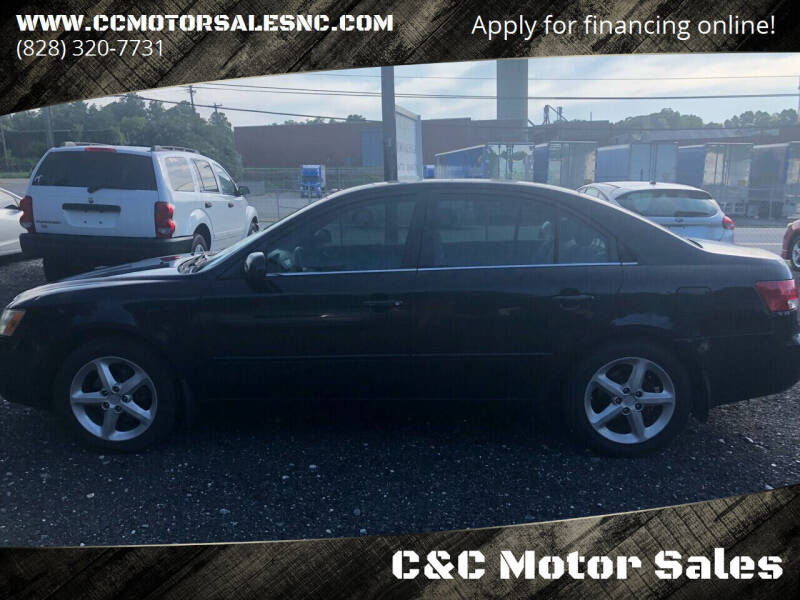 2006 Hyundai Sonata for sale at C&C Motor Sales LLC in Hudson NC