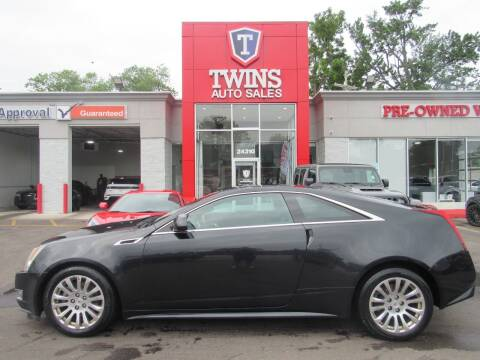 2011 Cadillac CTS for sale at Twins Auto Sales Inc in Detroit MI