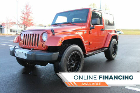 2009 Jeep Wrangler for sale at K & L Auto Sales in Saint Paul MN