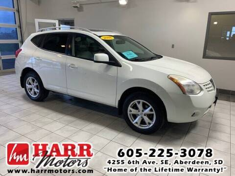 2008 Nissan Rogue for sale at Harr Motors Bargain Center in Aberdeen SD