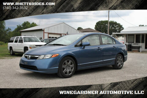2007 Honda Civic for sale at WINEGARDNER AUTOMOTIVE LLC in New Lexington OH