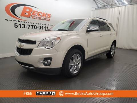 2013 Chevrolet Equinox for sale at Becks Auto Group in Mason OH